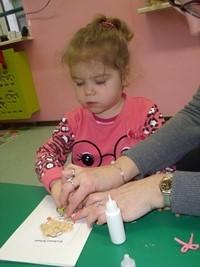 Prace plastyczne przedszkolaków