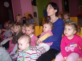 Dzieci w prywatnym przedszkolu Łódź