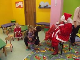 Zabawa świąteczna w przedszkolu